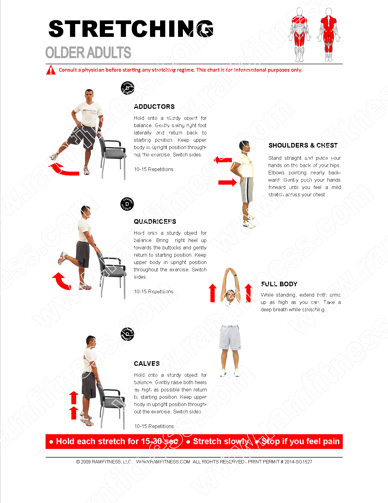 Senior Fitness Home Workout For Old And Elderly Manual Guide