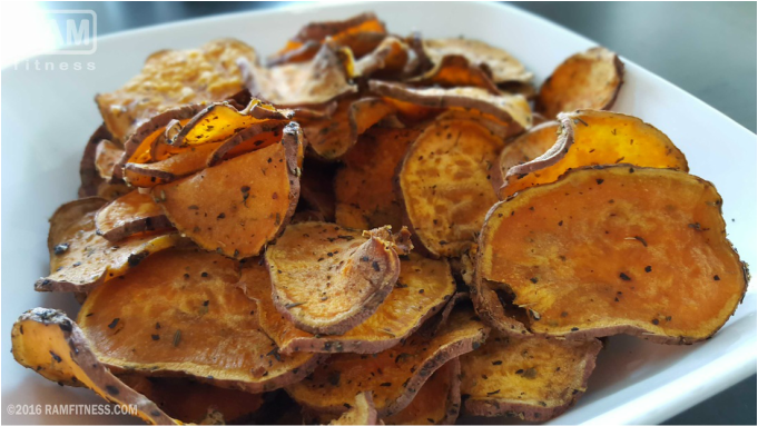 My Wife's Totally Awesome and Super Crunchy Sweet Potato Chips Recipe. Sweet potato chips recipes. Crunchy sweet potato chips recipe. Simple sweet potato chips recipe.