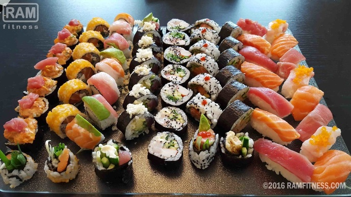 How to make sushi guide - home-made sushi for lunch. A simple guide to making great sushi at home.
