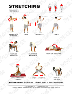 photo regarding Stretching Charts Free Printable identify Totally free Printable Stretching Textbooks - ramfitness
