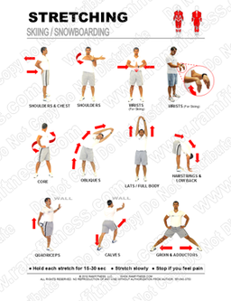 Free Printable Stretching Guides - ramfitness